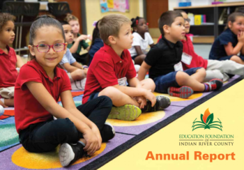 Education Foundation Annual Report cover